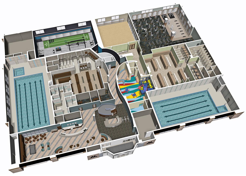 MOVATI Atlhetic Map - Floor