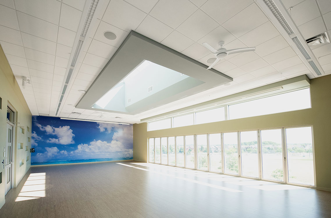 Sky Yoga Studio Interior