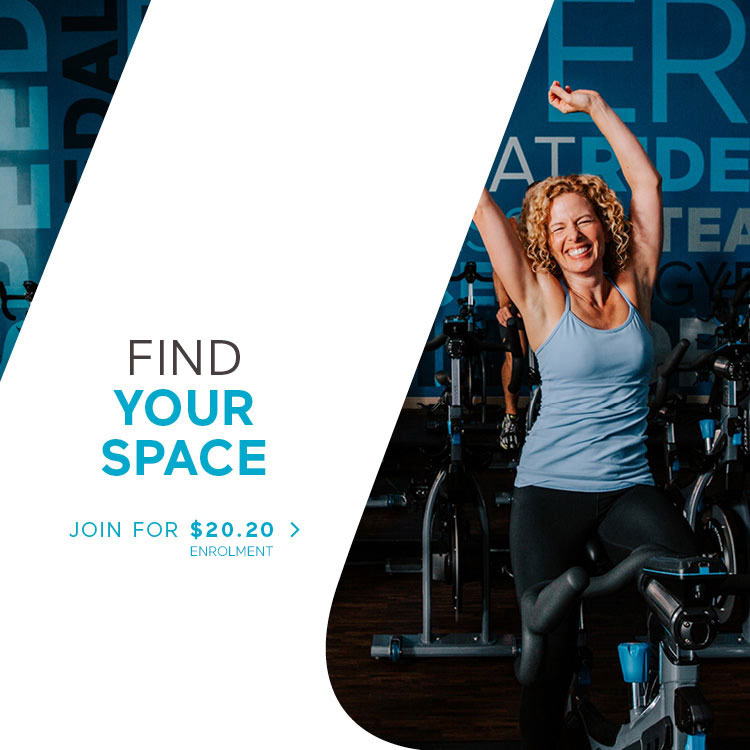 FIND YOUR SPACE - JOIN FOR $20.20