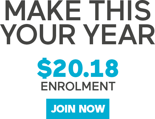 $20.18 Enrolment - Join Now