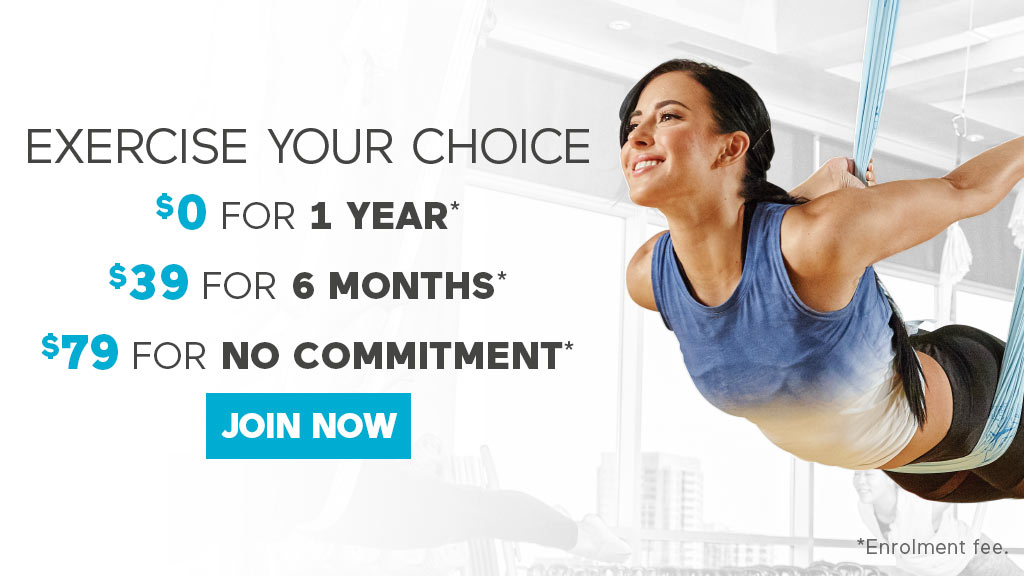 Exercise Your Choice - Join Now