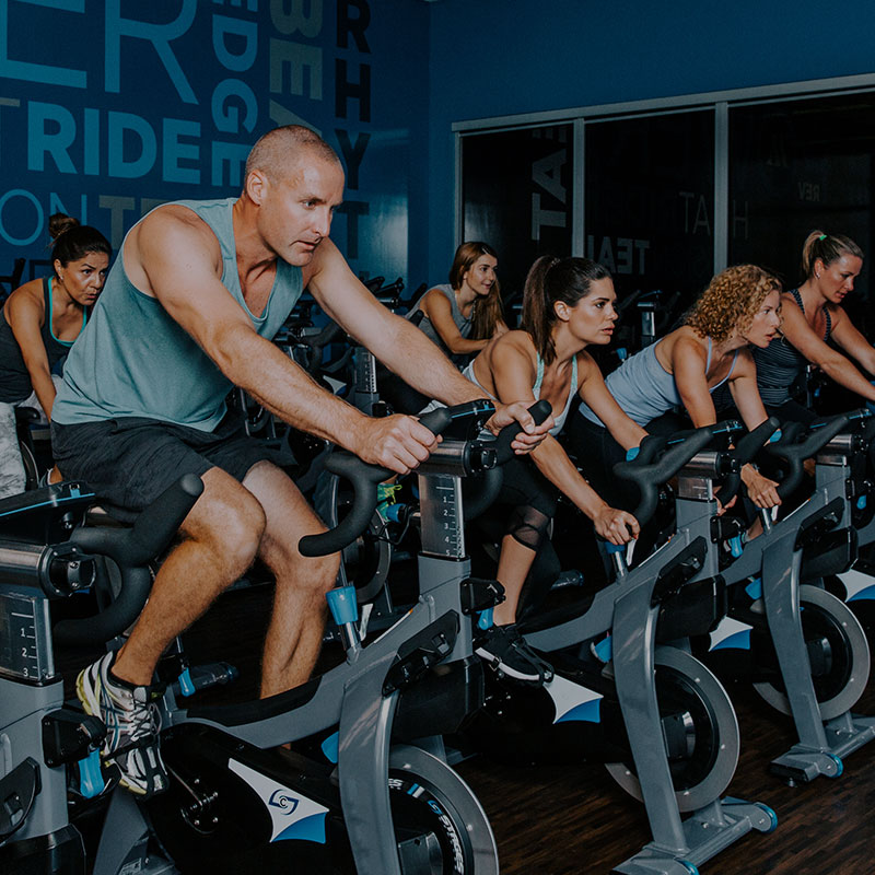 Gym with Cycle classes, unlimited classes