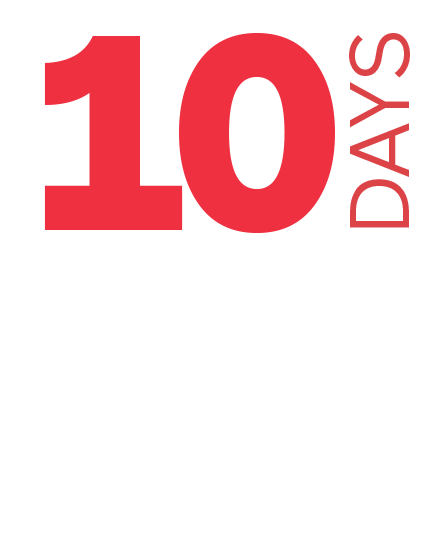 10 Days for $10