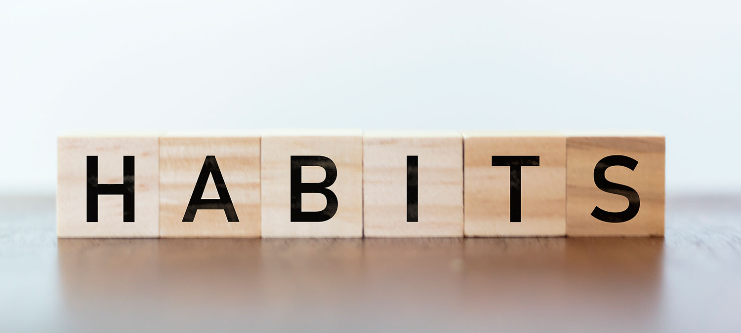 Considerations for when trying to change your habits