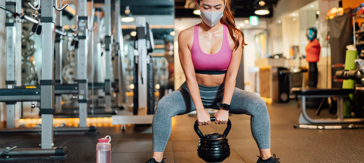 Exercising with a mask? Try these tips for success.